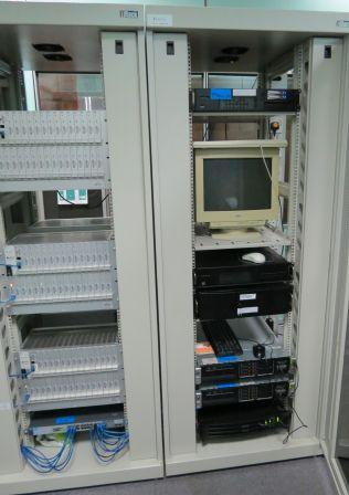 CRU racks and servers